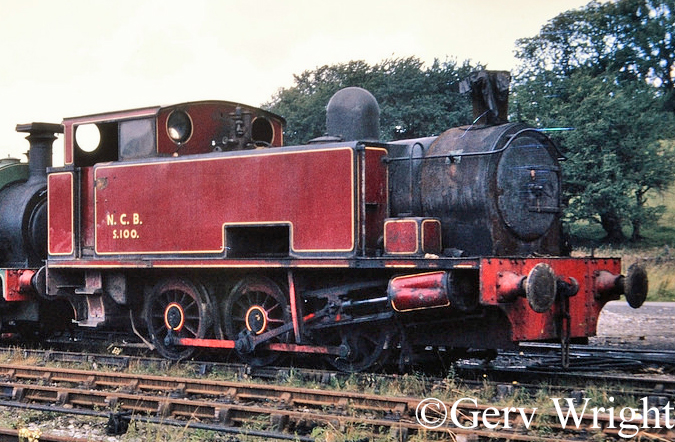 Hudswell Clarke 1822 on the Yorkshire Dales Railway - August 1973.jpg