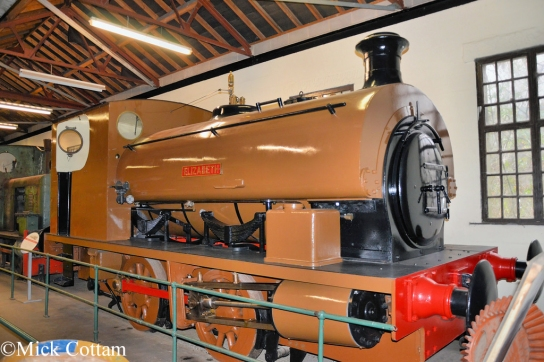 Hudswell Clarke 1888 Leeds Industrial Museum November 2014.jpg