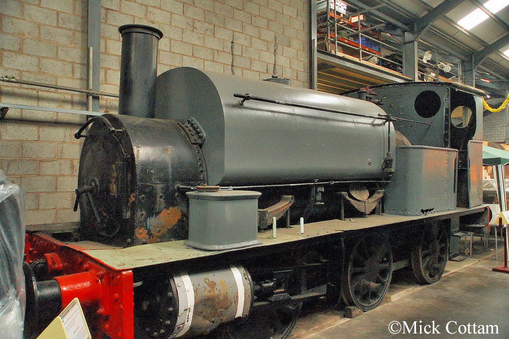 Hudswell Clarke 431 Chasewater Railway November 2011