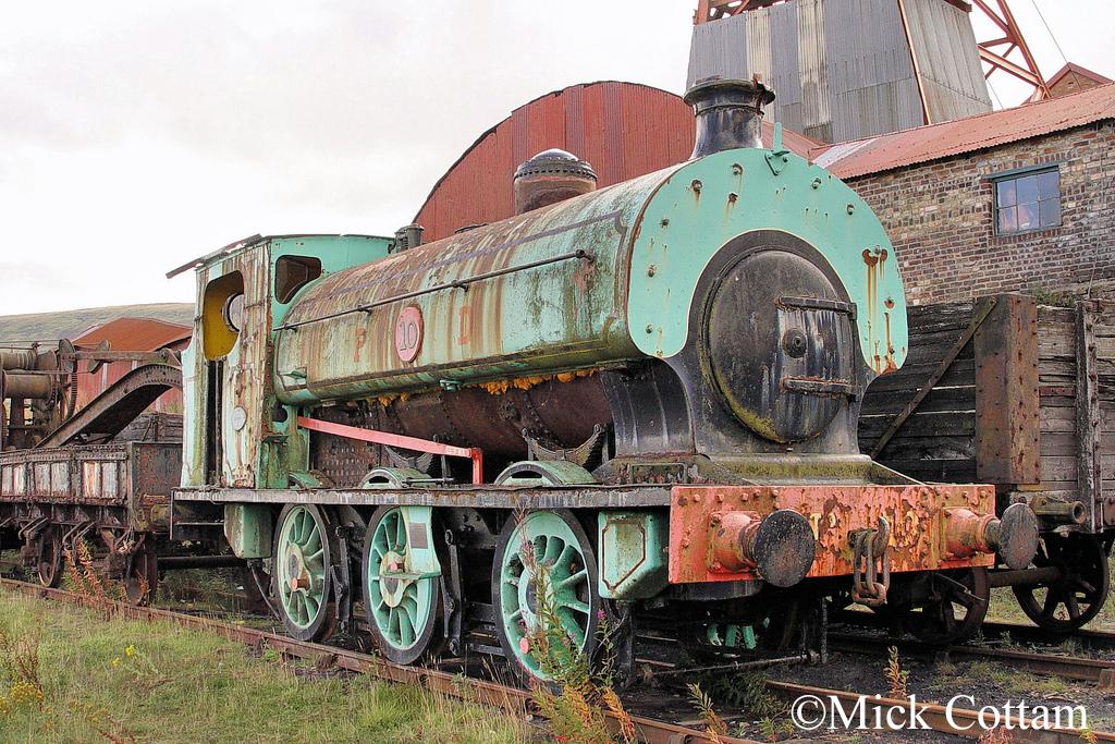 Hudswell Clarke 544  Big Pit Sept 2011.jpg