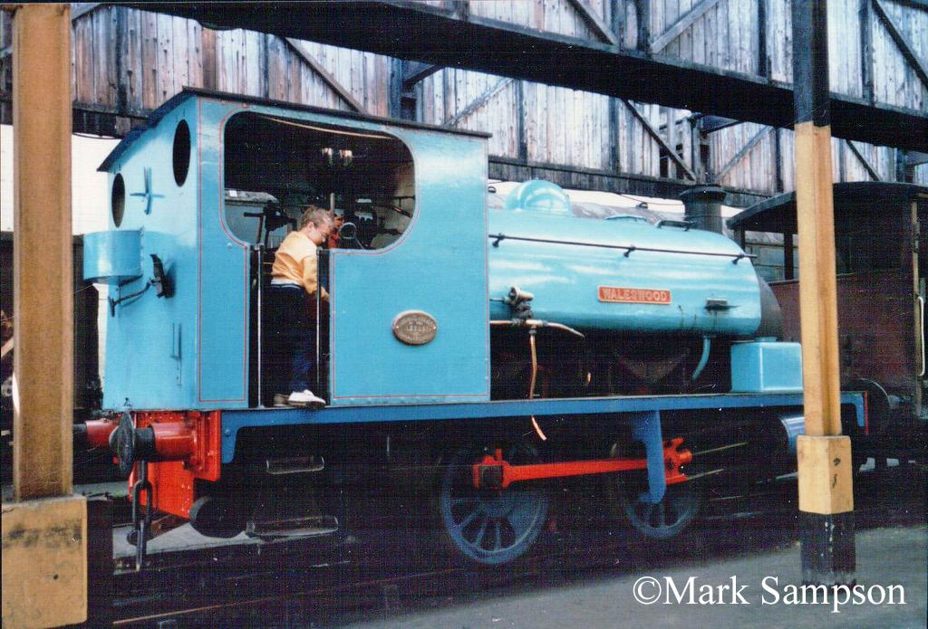 Hudswell Clarke 750 at Steamport, Southport - September 1988.jpg