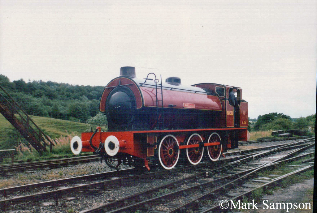 Hunslet 3168 at the Embsay & Bolton Abbey Steam Railway - July 1989.jpg