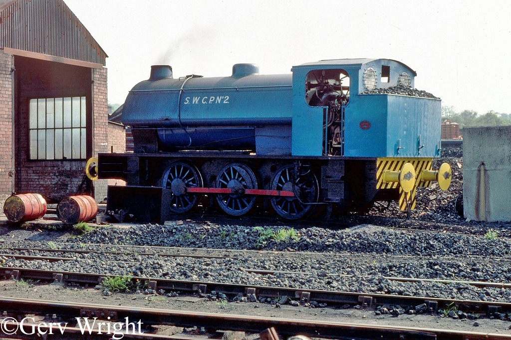Hunslet 3192 at Smithywood Coking Plant near Chapeltown - June 1976