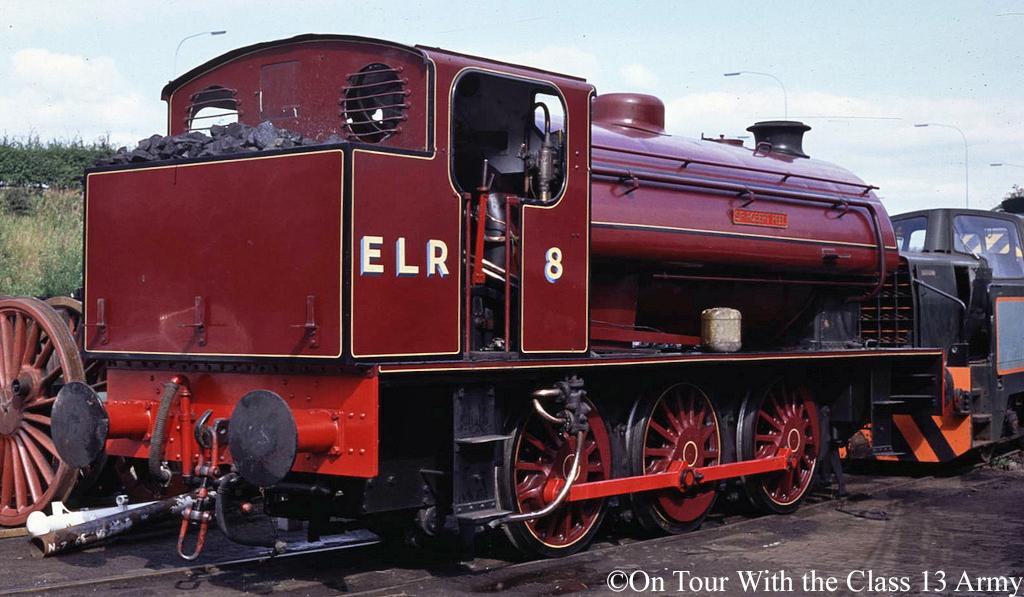 Hunslet 3776 as Sir Robert Peel on the East Lancs Railway - August 1989.jpg