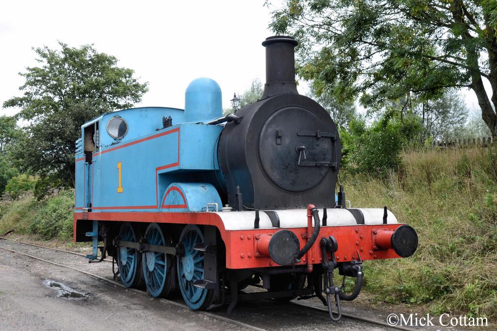Hunslet 3781 Kent & East Sussex Railway Sept 2015 as Thomas.jpg