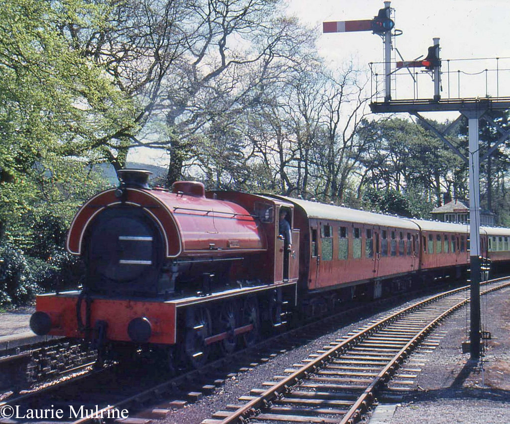 Hunslet 3794 on the Lakeside & Haverthwaite Railway - May 1980.jpg