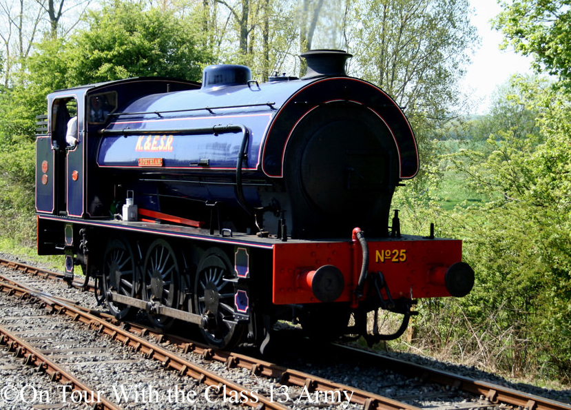 Hunslet 3797 on the Kent& East Sussex Railway - July 2018.jpg
