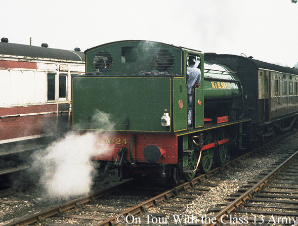 Hunslet 3800 at Tenterden on the Kent & East Sussex Railway - July 1980.jpg