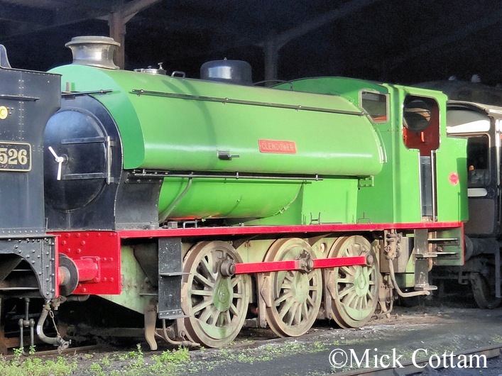 Hunslet 3810 South Devon Railway Sept 2012.jpg