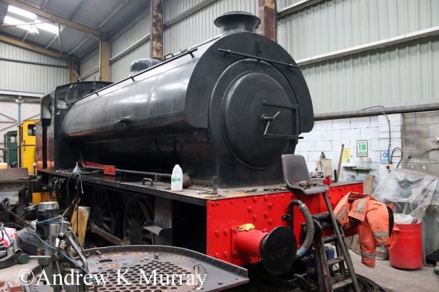 Hunslet 3840 at Garw Valley Railway - February 2018.jpg