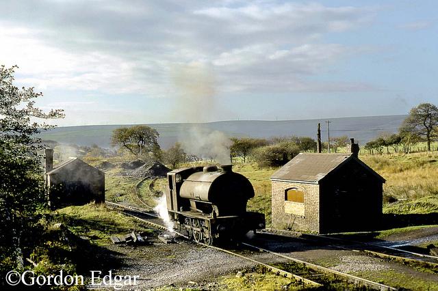 Hunslet 3840 at St Jihn's Colliery Bothy - November 1972.jpg