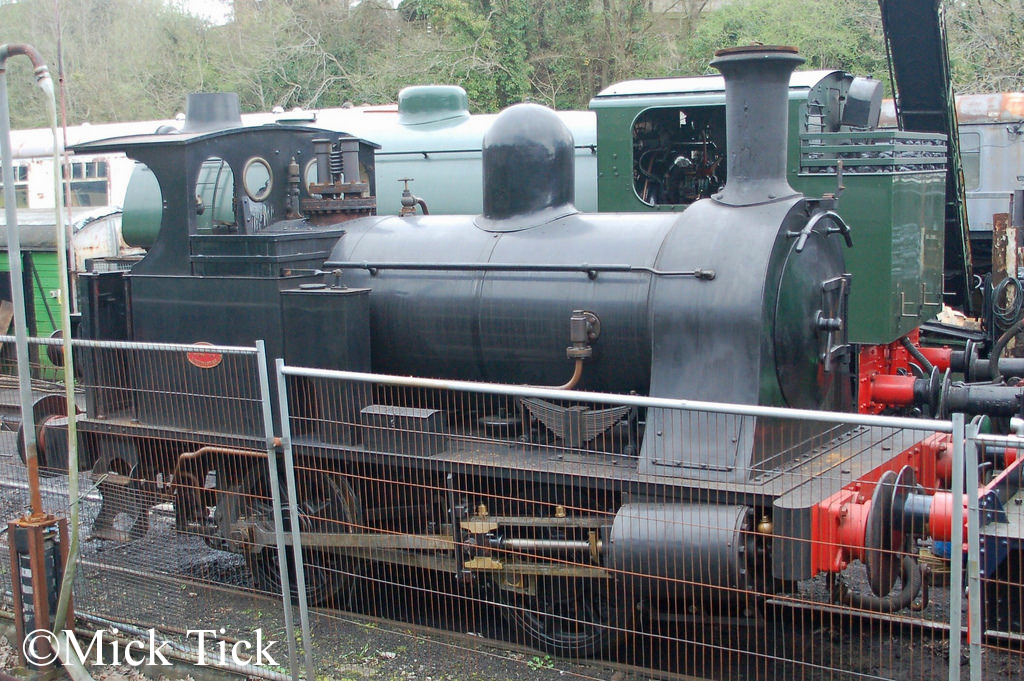 Kerr Stuart 3063 at the Avon Valley railway - April 2018.jpg