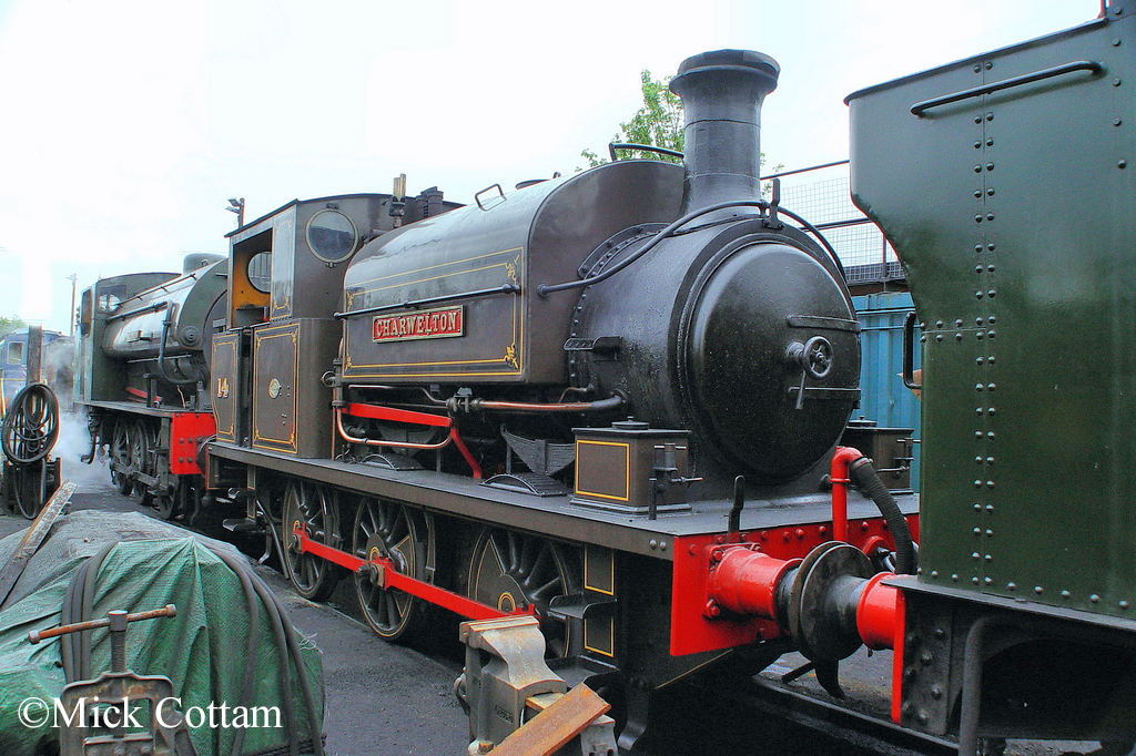 Manning Wardle 1955 Kent & East Sussex Railway May 2010.jpg