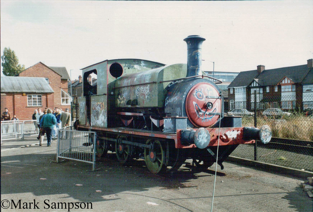 Manning Wardle 2015 at the Birmingham Railway Museum - October 1989.jpg