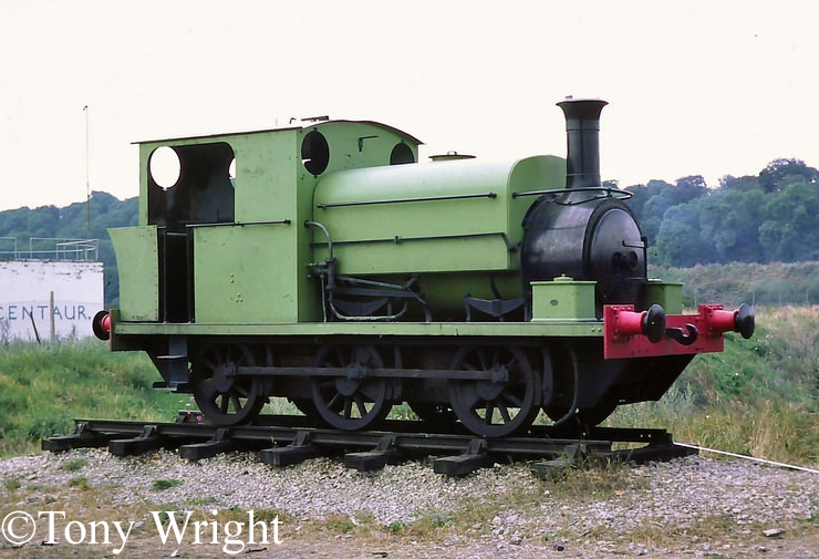 Manning Wardle 2025  at Black Country Museum, Dudley August 1976.jpg