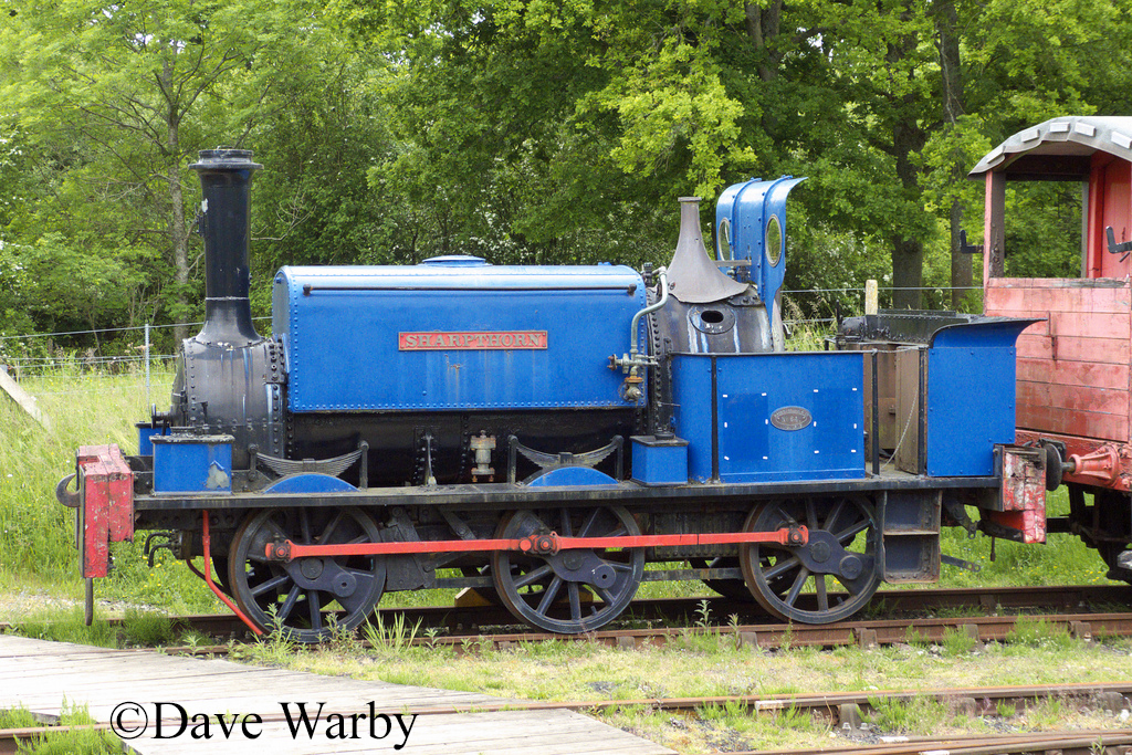 Manning wardle 641 at Horsted Keynes - June 2013.jpg