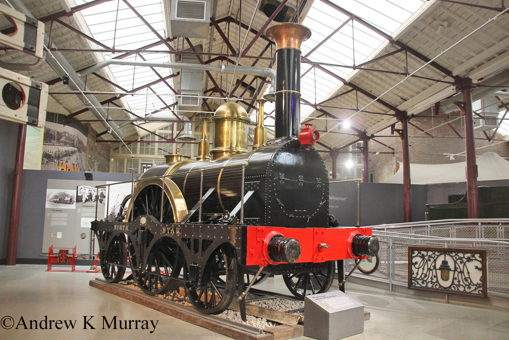North Star in the Museum of the Great Western railway - October 2014.jpg