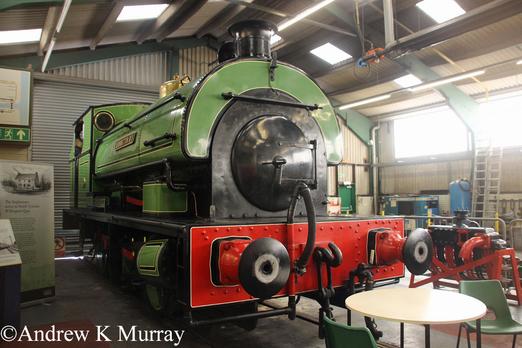 P 1970 in the Stephenson Railway Museum - April 2014.jpg