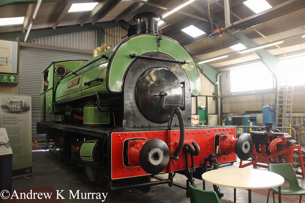 P 1970 in the Stephenson Railway Museum - April 2014.jpg