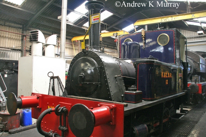 P1631 at Rolvenden on the Kent & East Sussex Railway - June 2011 .jpg