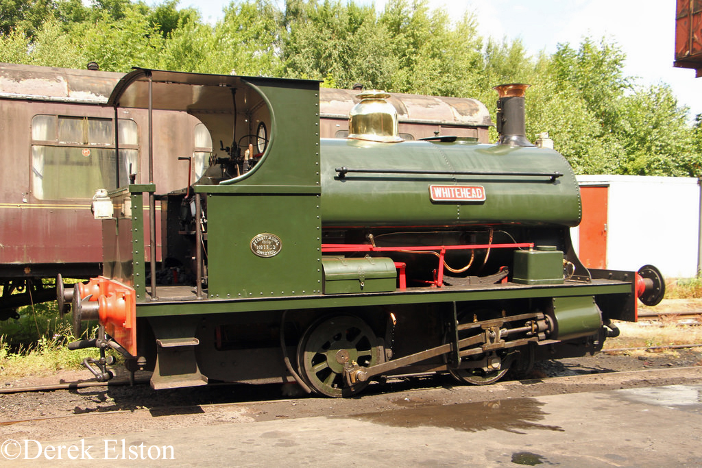 Peckett 1163 at the Midland Railway Centre - July 2017.jpg