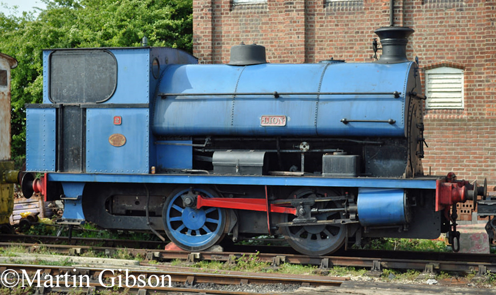 Peckett 1351 - at Lincolnshire Wolds Railway -  April 2011.jpg