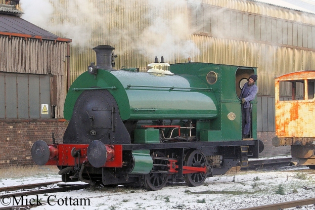 Peckett 1438 Appleby Frodingham Railway Preservation Society - December 2009.jpg
