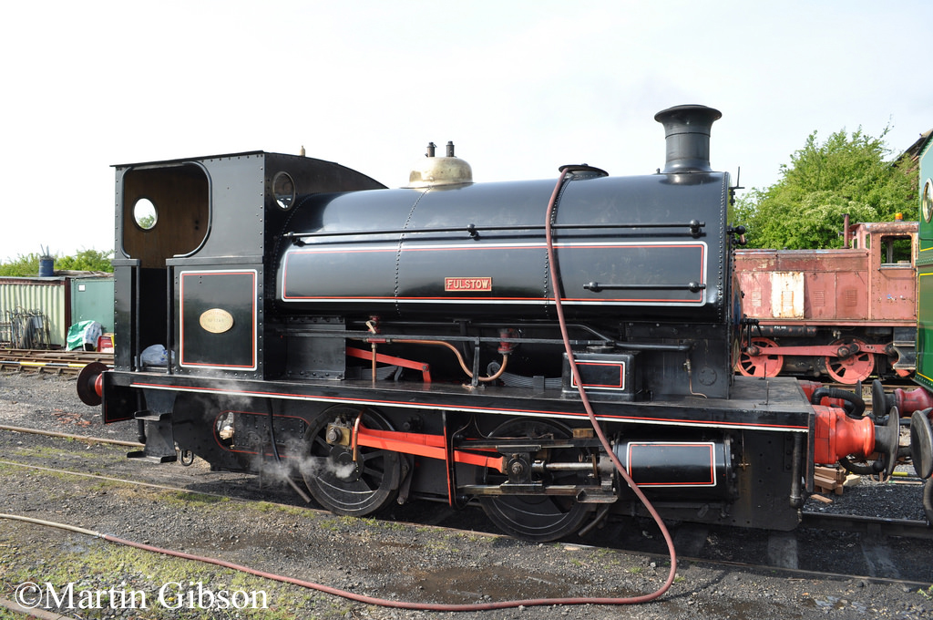 Peckett 1749 - at Lincolnshire Wolds Railway -  April 2011.jpg