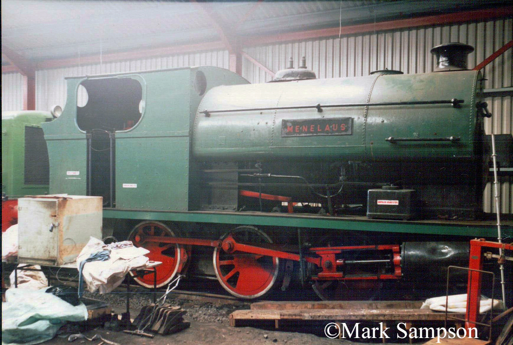Peckett 1889 at the Pontypool & Blaenavon Railway - May 1989.jpg