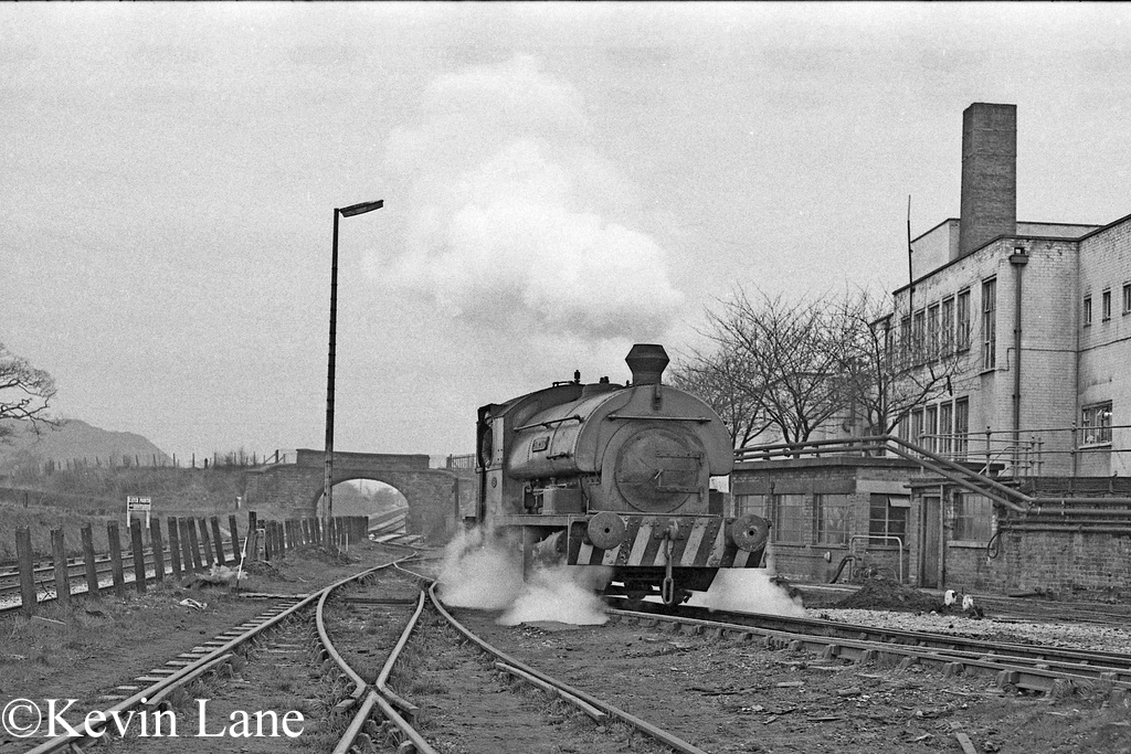 Peckett 1935 at Bersham Colliery, Rhostyllen, near Wrexham - March 1977.jpg