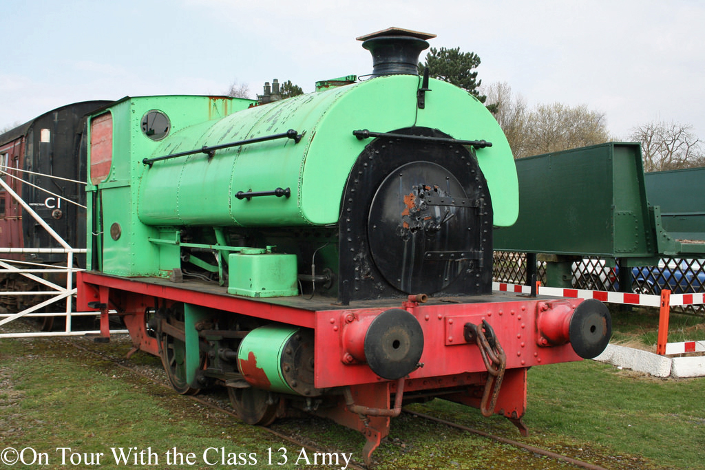 Peckett 1990 at Horsehay on the Telford Steam Railway - April 2015.jpg
