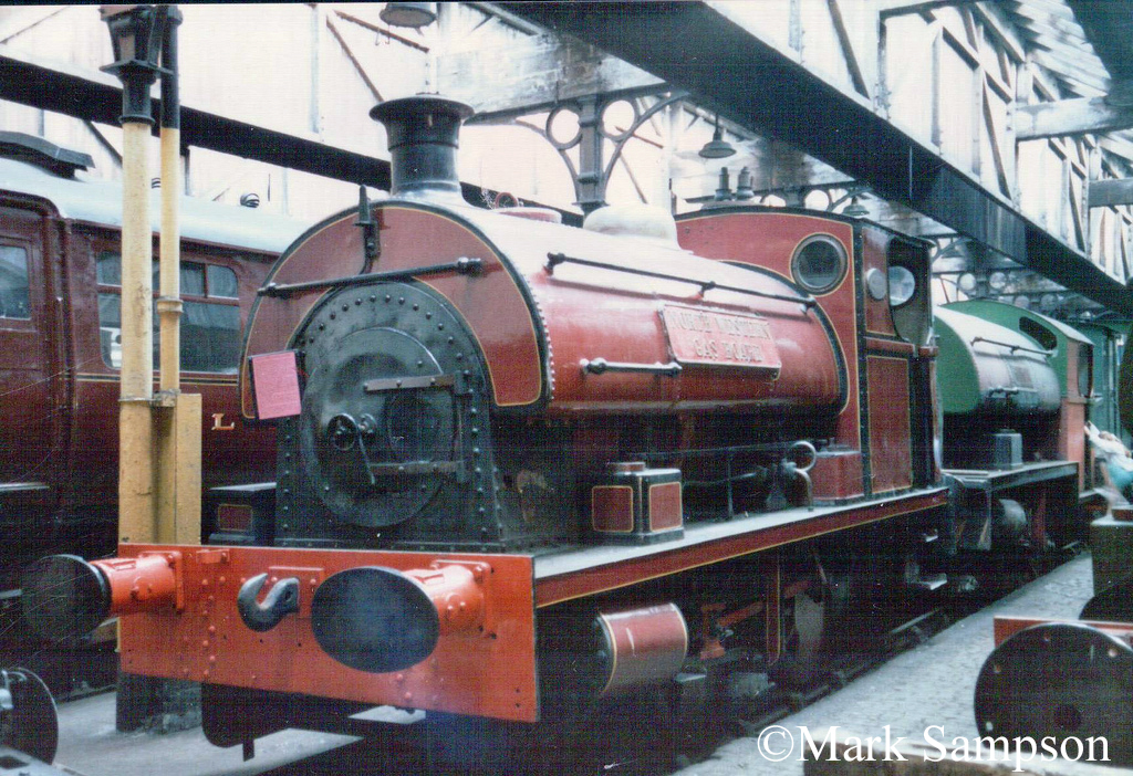 Peckett 1999 at Steamport, Southport - September 1988.jpg