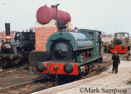 Peckett 2003 at the Middleton Railway - March 1989.jpg