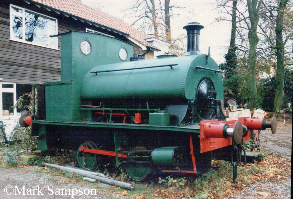 Peckett 2012 at Cadeby Light Railway - November 1989.jpg