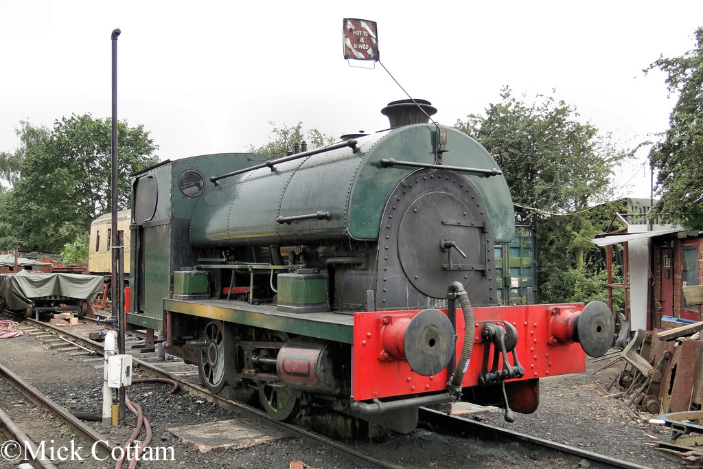 Peckett 2104 Northampton & Lamport Railway August 2012.jpg