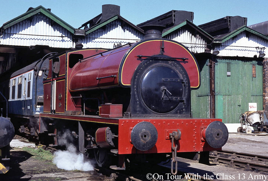 Peckett 2153 at Steamport Southport - August 1989.jpg