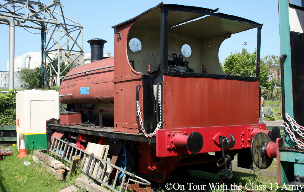 Peckett 614  on display at Kemsley Down S&KLR - May 2018.jpg