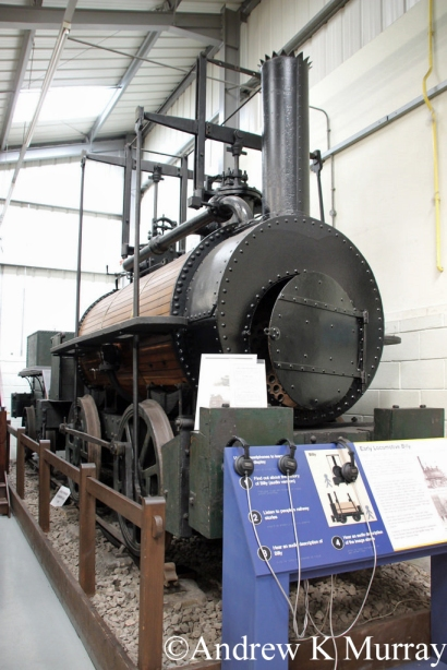 Robert Stephenson A4 at the Stephenson Railway Mauseum - June 2017.jpg