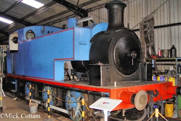Robert Stephenson Hawthorn 7031  East Anglia Railway Museum DEcember 2009.jpg