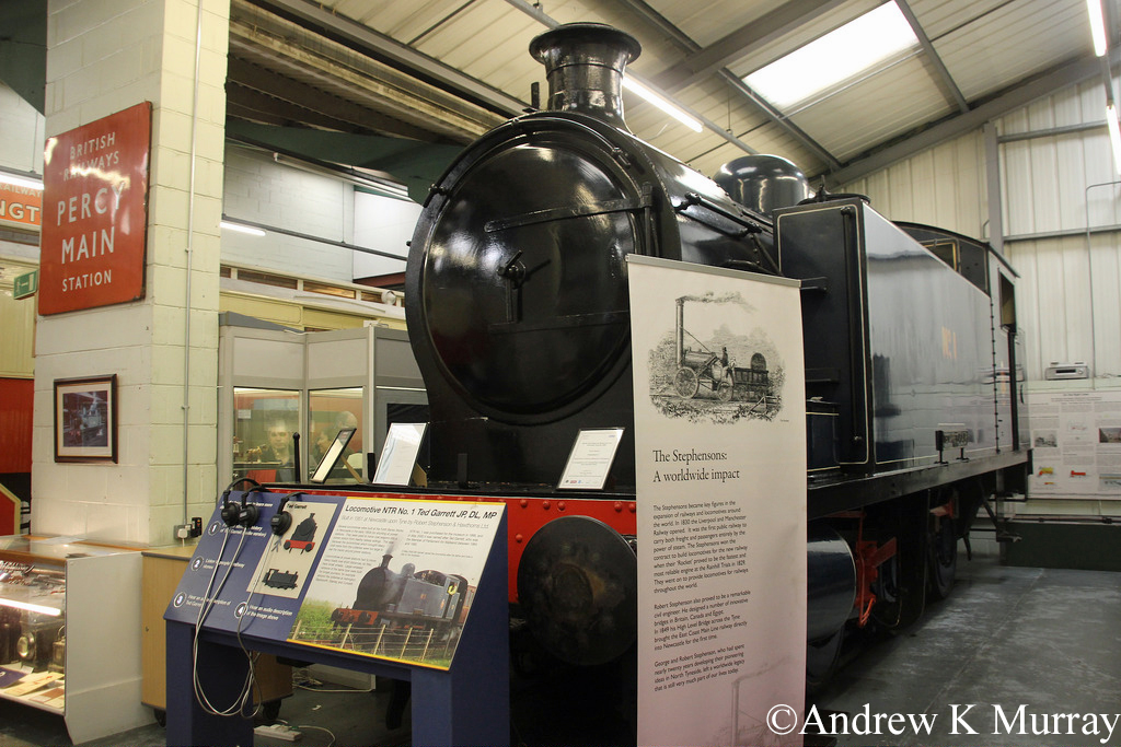 RSH 7683 in the Stephenson Railway Museum - April 2014.jpg