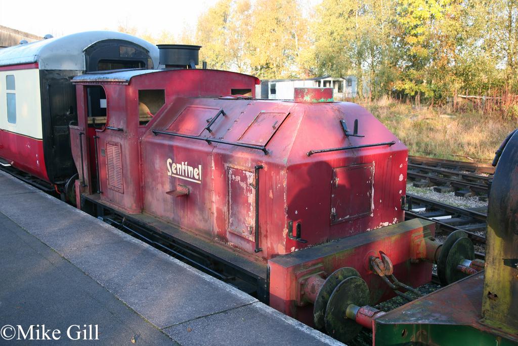 Sentinel 9535 Foxfield Railway Oct 2011.jpg