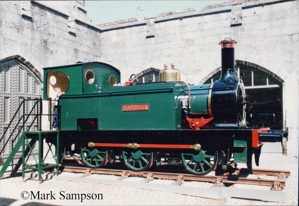 Stephenson 2309 at Penrhyn Castle Railway Museum - June 1989.jpg