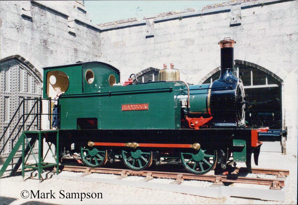 Stephenson 2309 at Penrhyn Castle Railway Museum - June 1989.jpg