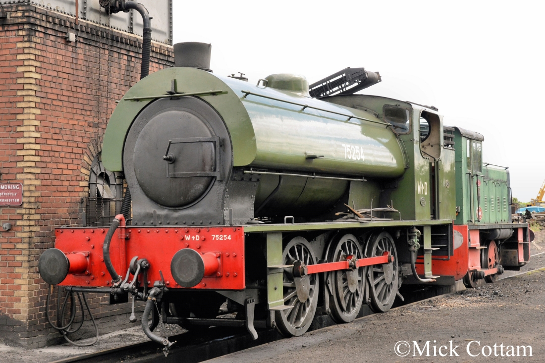 WB 2777 Bo'ness & Kinneil Railway June 2014