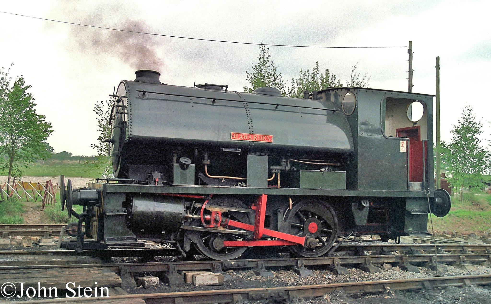 Bagnall 2623 on Foxfield Railway - March 2012.jpg