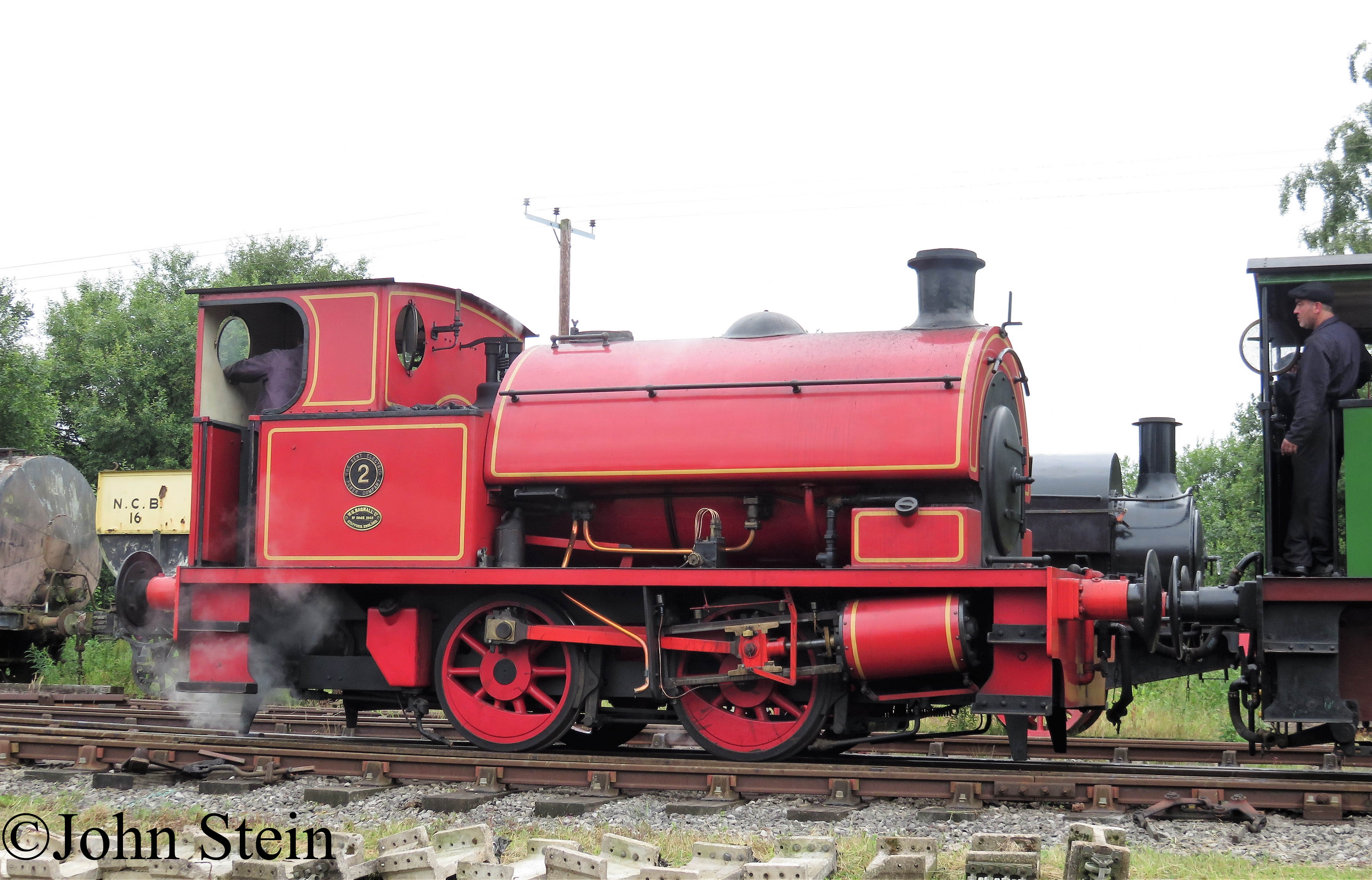 Bagnall 2842 on the Fioxfield Railway - July 2017.jpg
