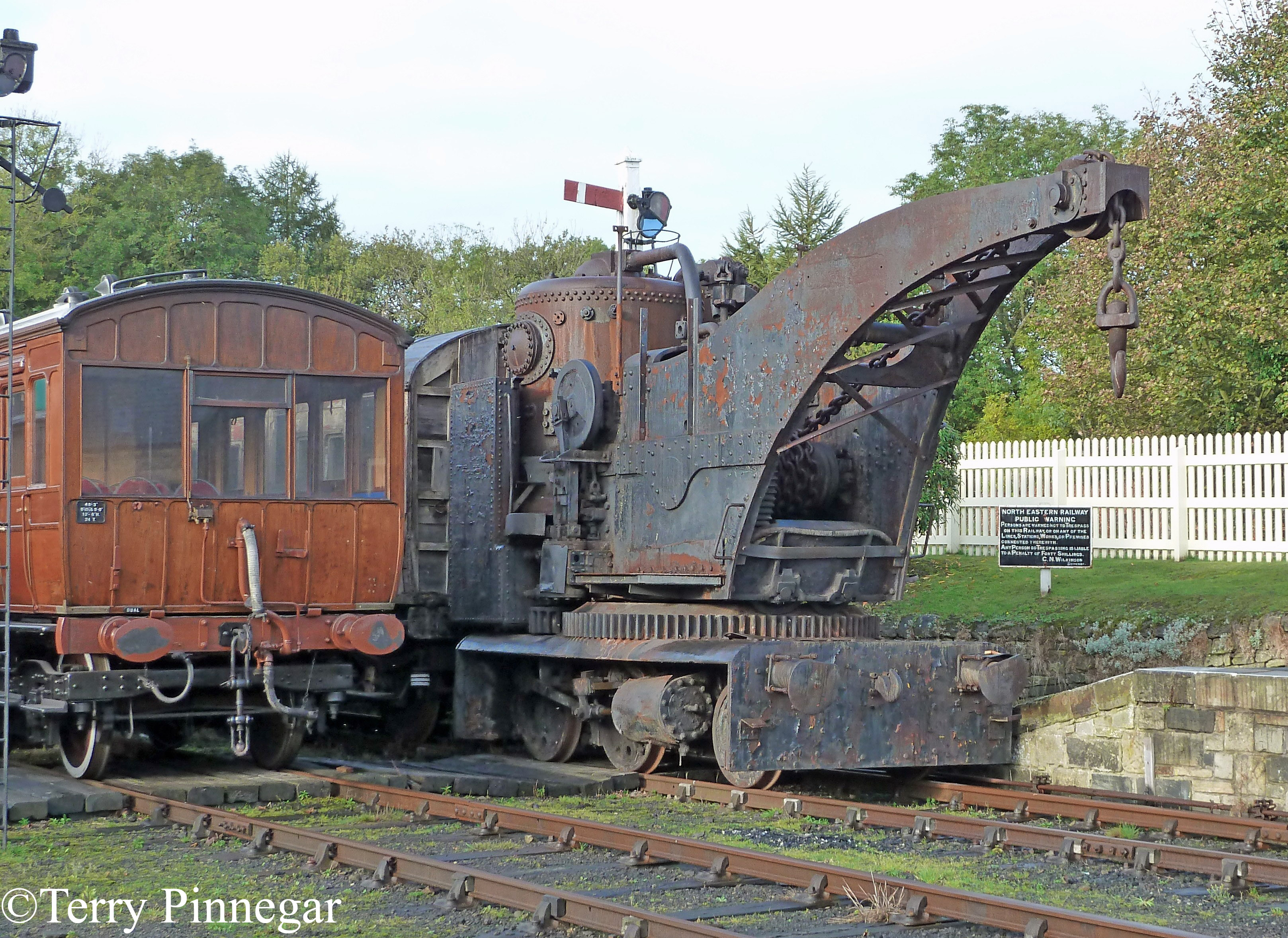 Black & Hawthorn 897 at Beamish Museum - October 2010.jpg