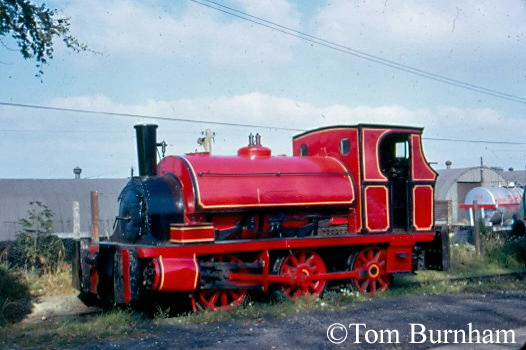 Fox Walker 358 at Tenterden in store on the Kent & East Sussex Railway - October 1972.jpg