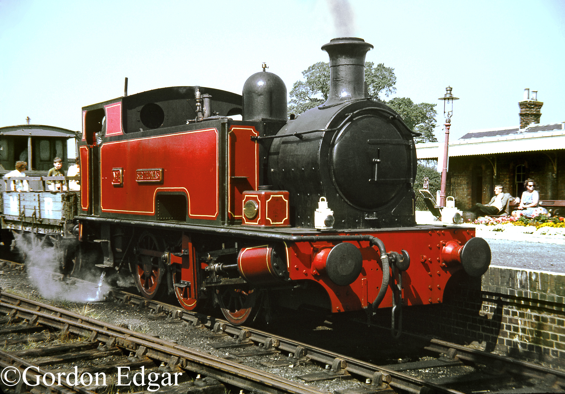 Hudswell Clarke 1334 at yje Buckinghamshire Railway Centre at Quainton - August 1970.jpg