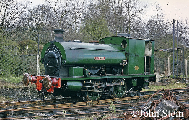 Hudswell Clarke 1888 at Eshholt Sewerage Works.jpg